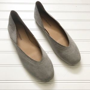 Lucky Brand NWT Alba Flats in Titanium Gray